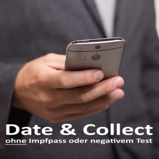 Date & Collect ohne Test